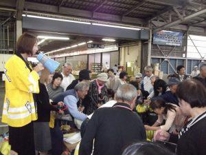 県央食品卸売センター感謝祭に出席