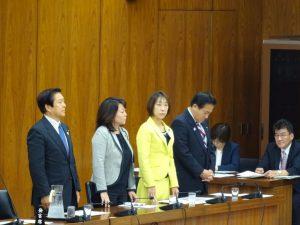 教育公務員特例法一部改正案を可決。