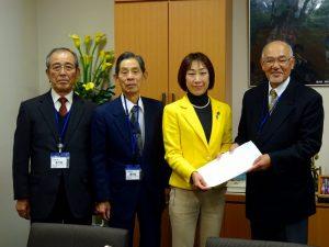 新潟県市町村職員年金者連盟の方々から要望を承りました。