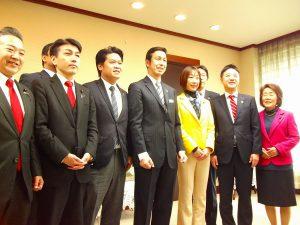 民進党新潟県連で米山知事を表敬訪問しました。