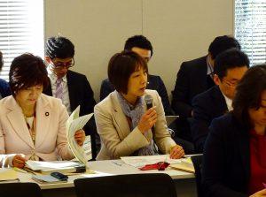 文部科学部門会議では、給付型奨学金、指導要領改定について文科省からヒアリング。