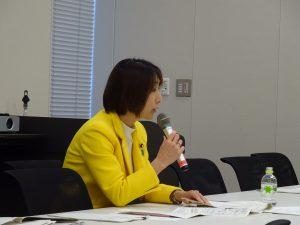 党災害対策部門会議において糸魚川市大規模火災による現状と対応について内閣府からヒアリングを受けました。