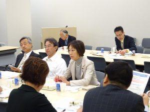 17日(金)文科省提出法案について、同僚議員と論点整理。