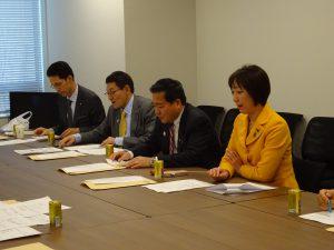 党文科部門役員会議。