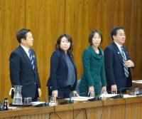 文部科学委員会。給付型奨学金法案を全会一致で可決。