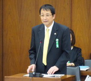 参考人。筑波大学長 永田恭介氏。