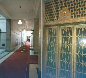文科委員会は予算委員会で使用される国会本館で開かれました。