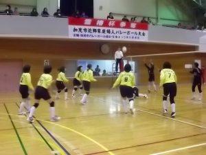 加茂市雪椿杯バレーボール大会