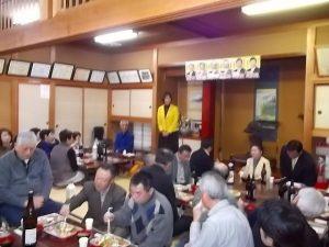 小島すすむ県議会議員後援会の観桜会