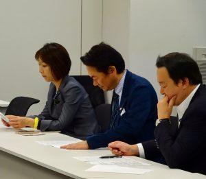 ブロック議員会議。議題は東京都議選対策について。