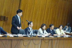 同僚の今井雅人議員が加計学園疑惑について追求。