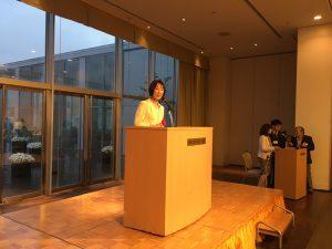 続いて、新潟県行政書士会懇親会に出席しました。
