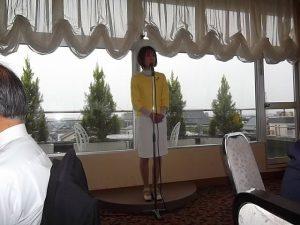地元に戻り、社会保険労務士三条支部の懇親会に出席しました