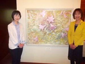 下田の森の美術館 渡邉美保子展にお邪魔しました