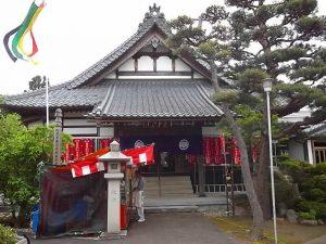 小須戸 茂林寺の花まつり