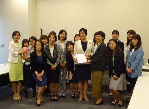 6/8(木)JR東日本で働く女性の方々との意見交換会。