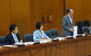 6/9(金)災害対策特別委員会。