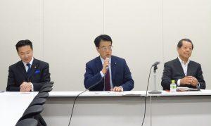 6/13(火)党安全保障調査会。日本再建イニシアティブ船橋洋一理事長より「北朝鮮情勢の地政学的挑戦」について。