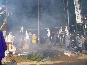 宝積院 火渡り祭