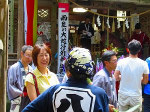 三条市「しただふるさと祭り」雨生の大蛇祭り